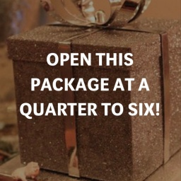 OPEN THIS PACKAGE AT A QUARTER TO SIX! – K.A Luxe Media